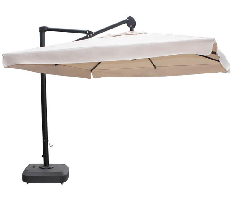Guarda-Sol quadrado braço lateral c/ capa proteção